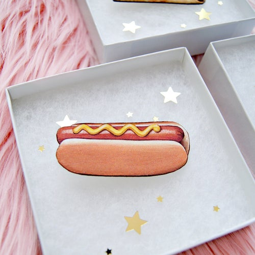 Image of Hot Dog pin