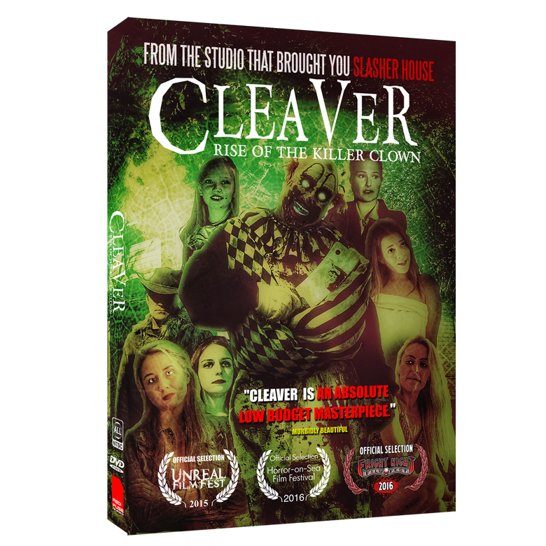 Image of CLEAVER : RISE OF THE KILLER CLOWN GREEN EDITION (Region Free)