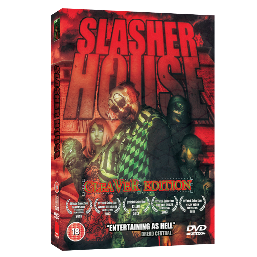 Image of SLASHER HOUSE - CLEAVER EDITION DVD