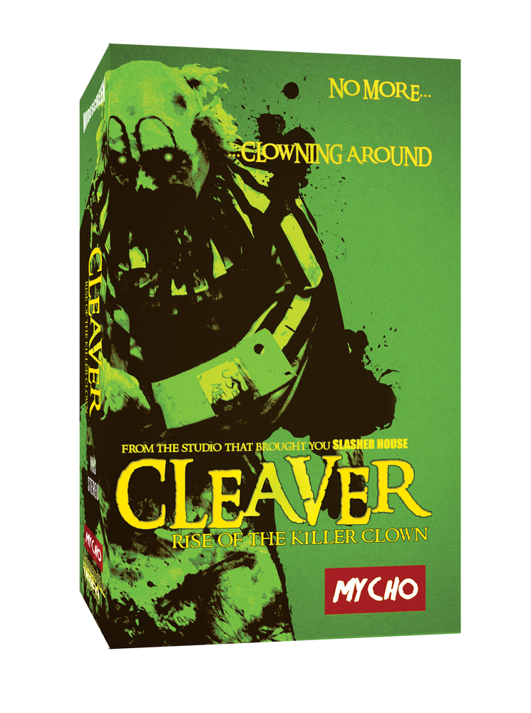 Image of CLEAVER : RISE OF THE KILLER CLOWN -LIMITED EDITION VHS