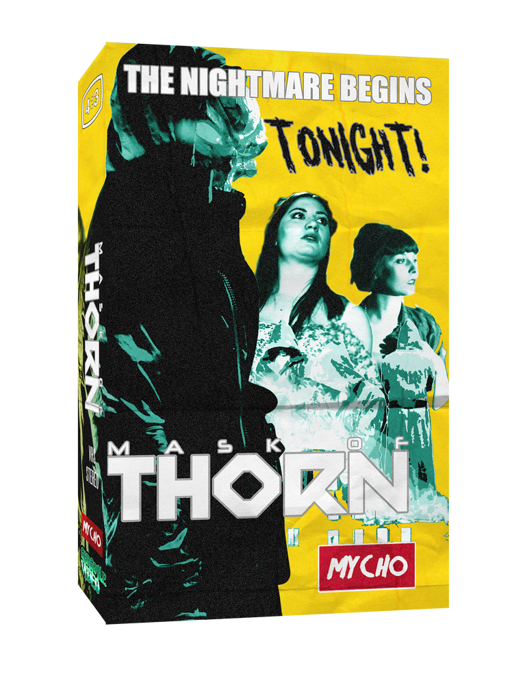 Image of MASK OF THORN - LIMITED EDITION VHS