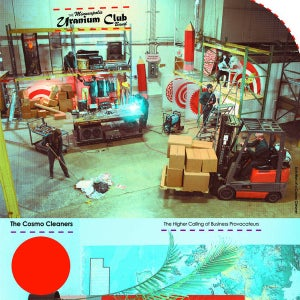 """Image of Uranium Club - The Cosmo Cleaners 12"""" (Static Shock)"""