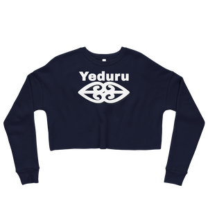 Image of Yeduru Fleece Crop Sweatshirt