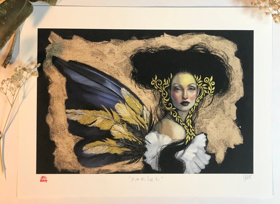 "Image of ""Sariel"" Limited edition print"