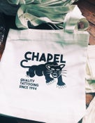 Image of Chapel Tattoo PANTHER TOTE BAG