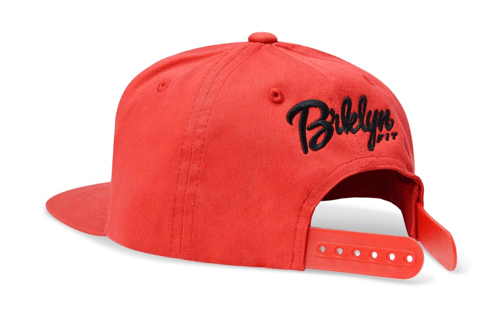 Image of BRKLYN FIT® POW (RED) - KIDS SNAPBACK