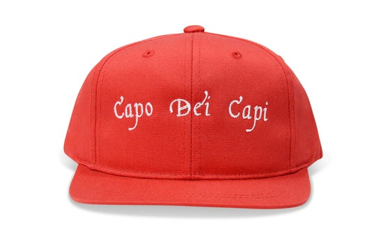 Image of CAPO DEI CAPI (RED) - KIDS SNAPBACK