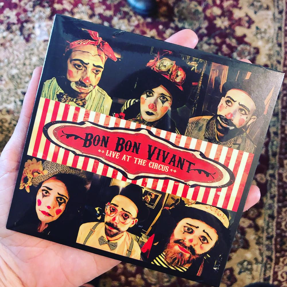 Image of Bon Bon Vivant Live at the Circus CD