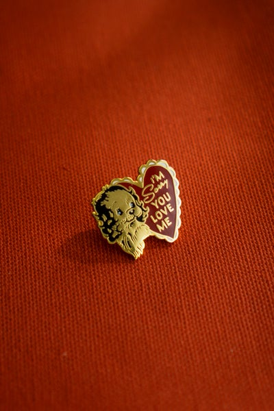 Image of Stay Home Club x AF - Sorry You Love Me Enamel Pin (2019)