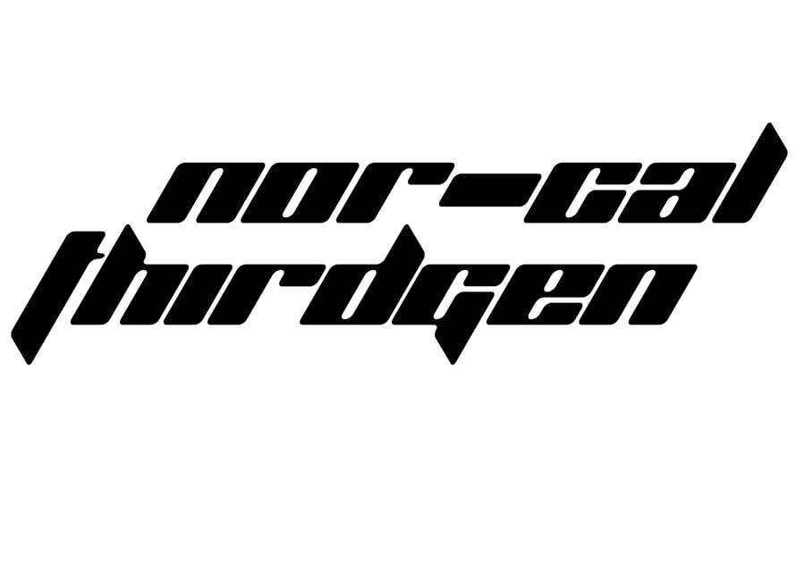 Image of NorCal Thirdgen Decals *Pre-Order*