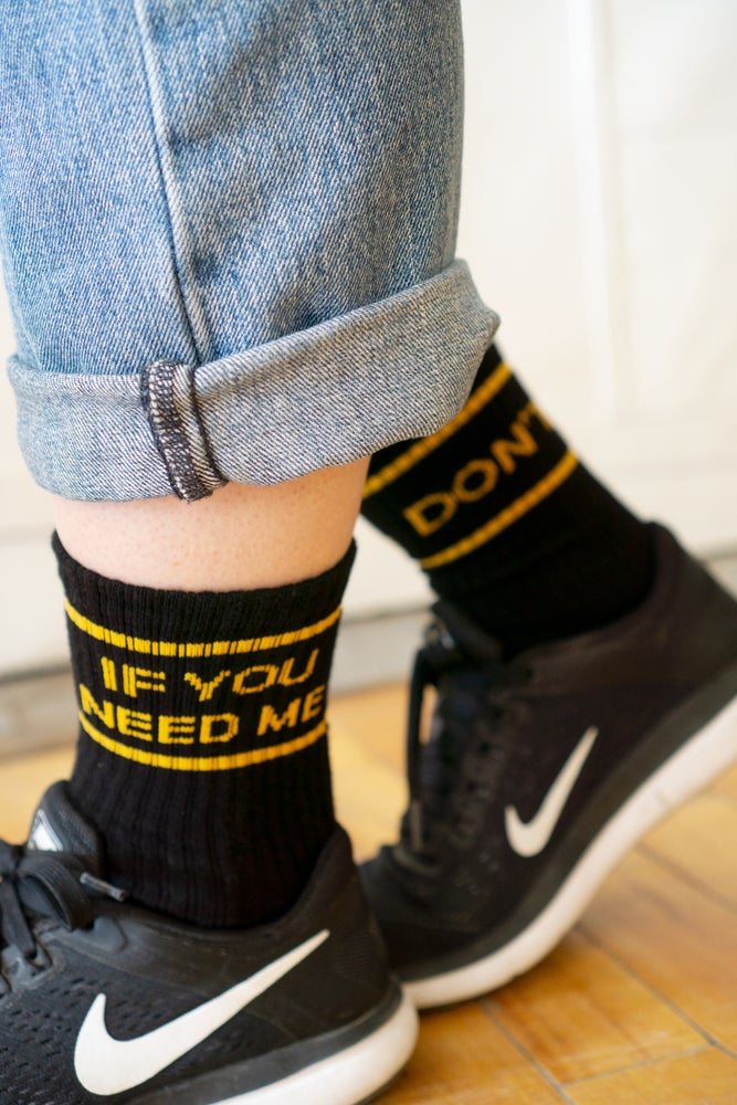 Image of Stay Home Club x AF - If You Need Me Don't Socks (2019)