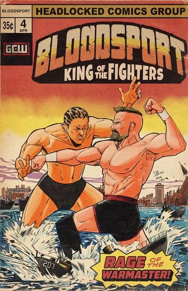 Image of Josh Barnett vs Minoru Suzuki - Bloodsport