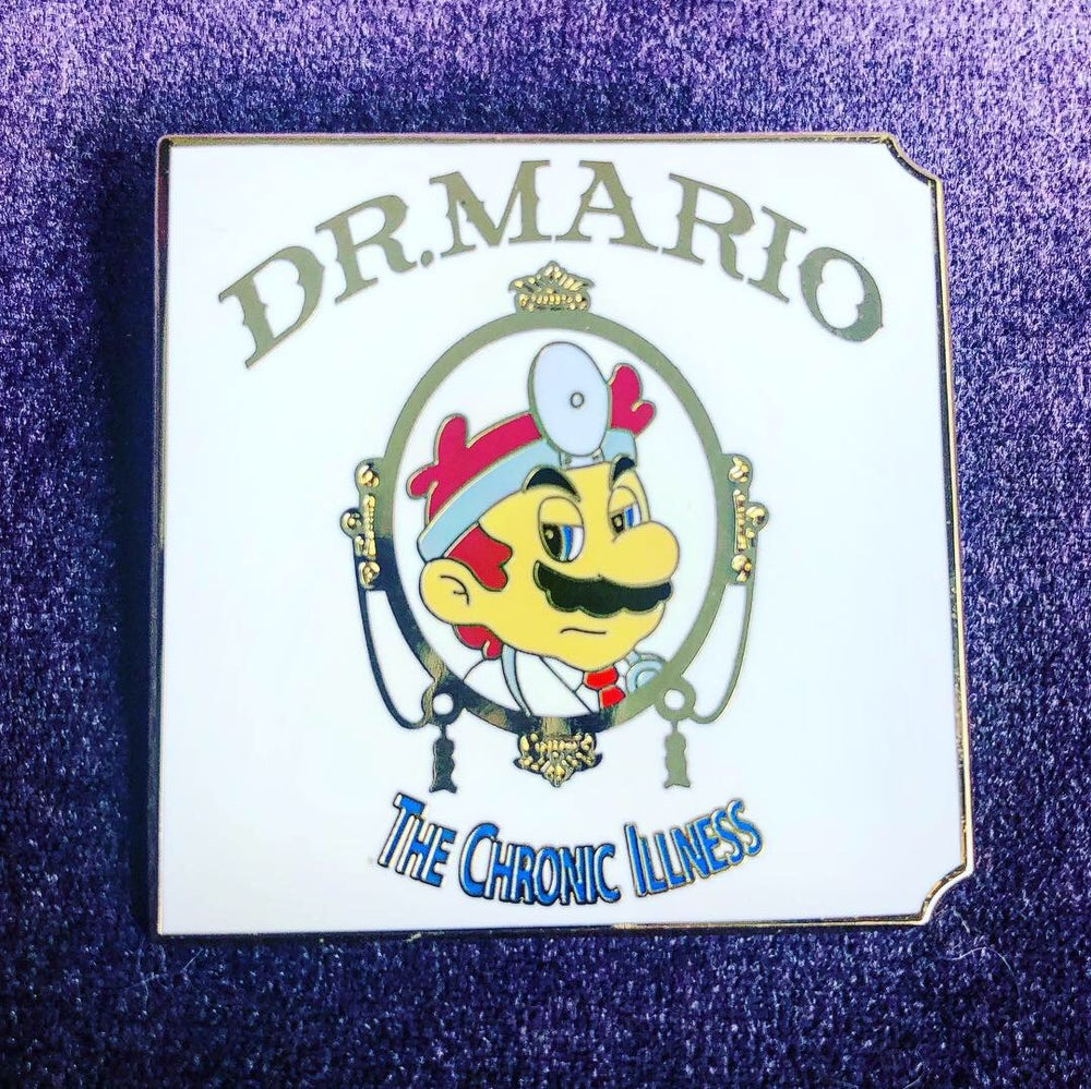 Image of Dr Mario - The Chronic Illness pin