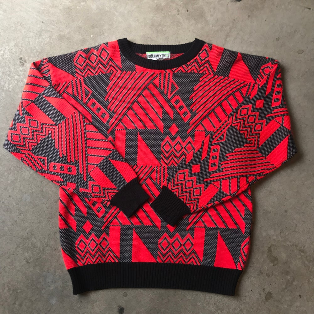 Image of Obermeyer Psychedelic Print Jumper