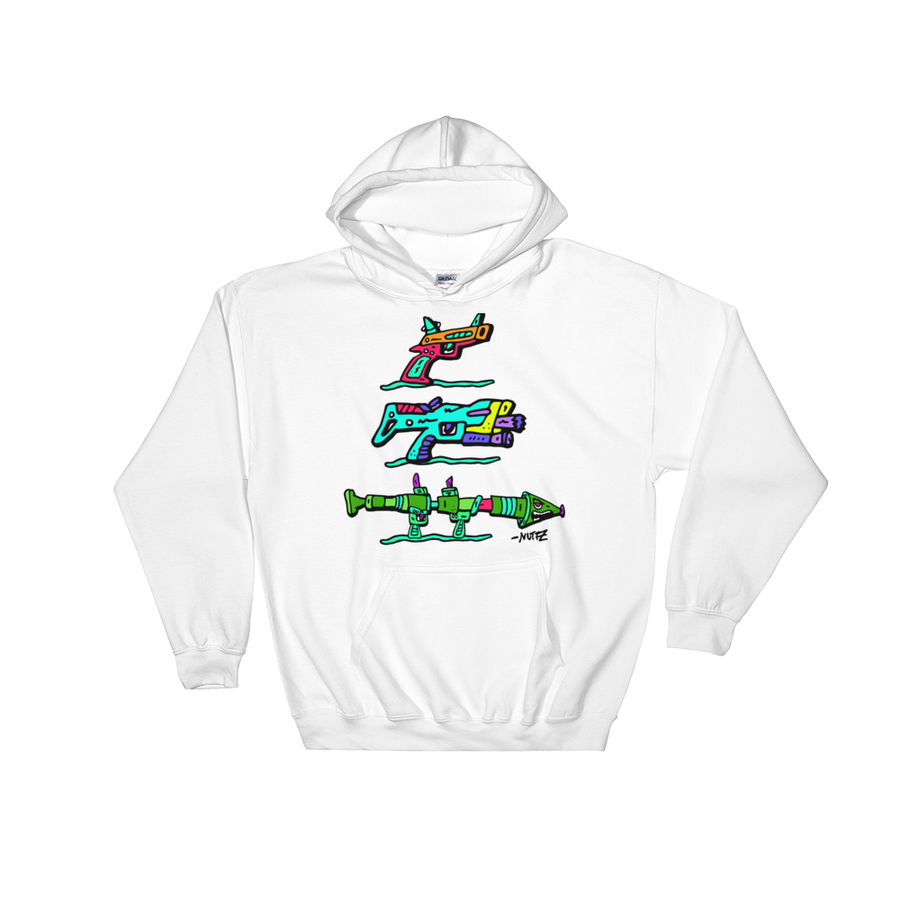Image of White Nuttz Weapon Line Hoody