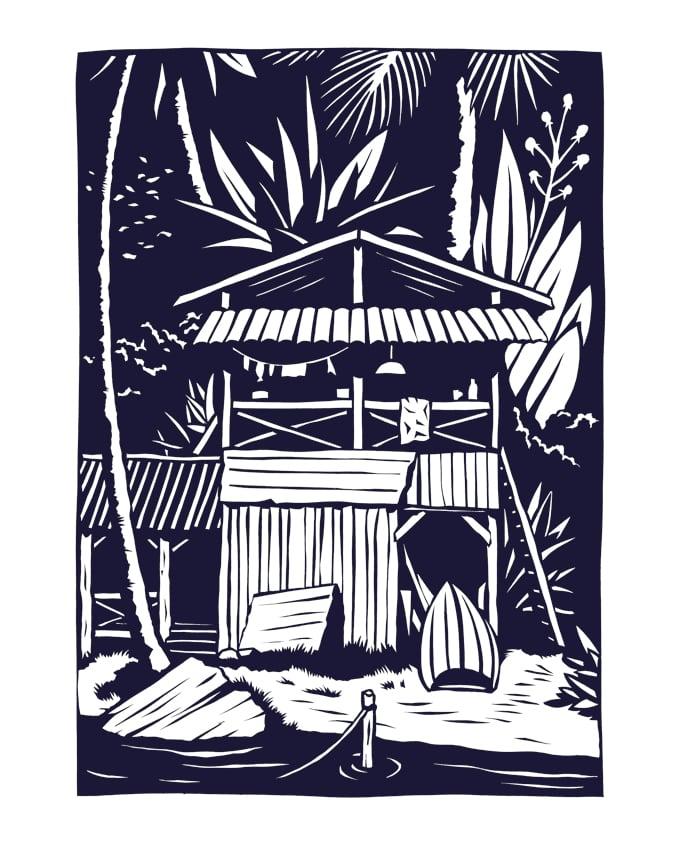 Image of »Janta Island Cut #28«
