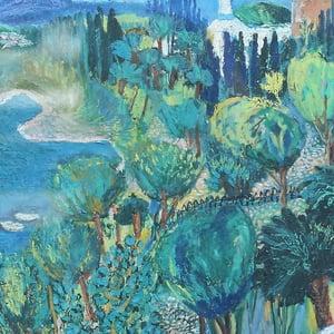 Image of 1967, 'Big Blue Sea,' Walborg Norrman (1919-2000)