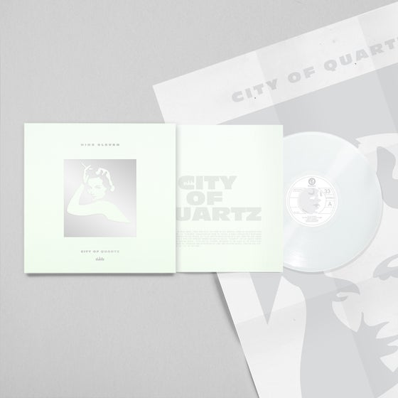 Image of City of Quartz 100 copies siklscreen printed limited edition