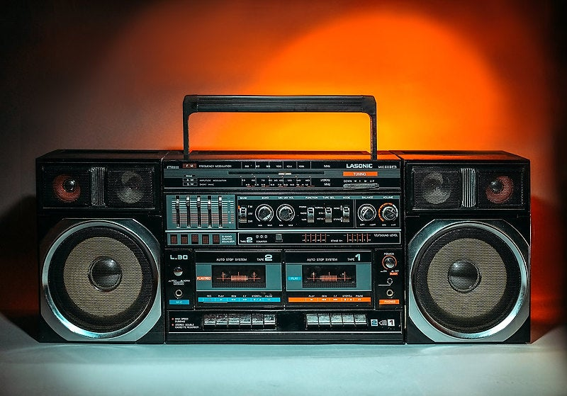 Image of LASONIC L-30 BLUETOOTH BOOMBOX (1985)