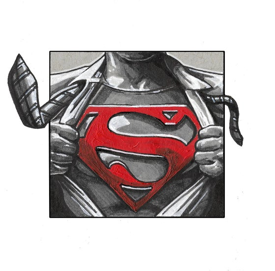 Image of Superman - Square