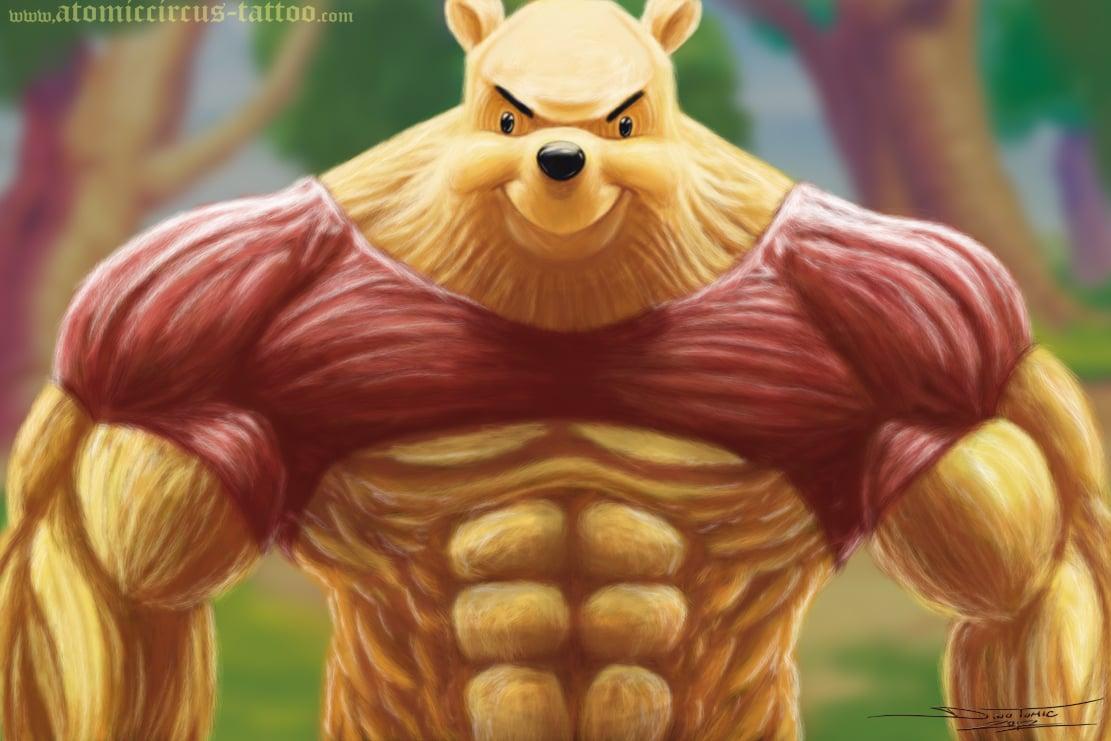 Image of #104 Winnie the Pooh