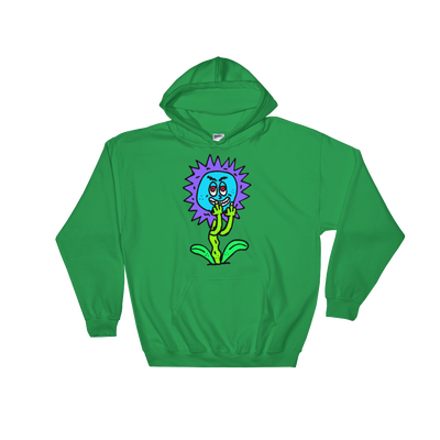 Image of Fuck Ya Flowers Green Hoody