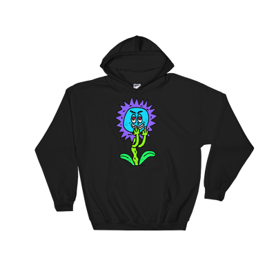 Image of Fuck Ya Flowers Black Hoody