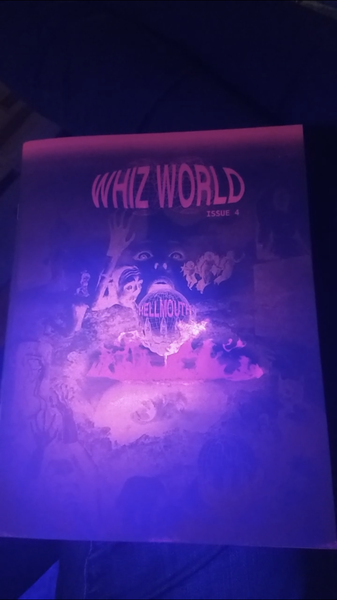 Image of WHIZ WORLD ISSUE 4: HELLMOUTH