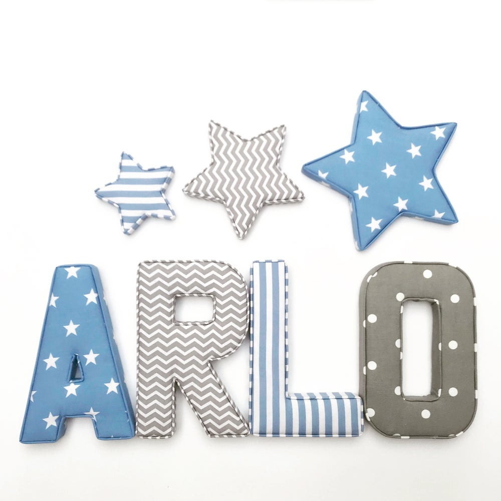 Image of FABRIC LETTERS