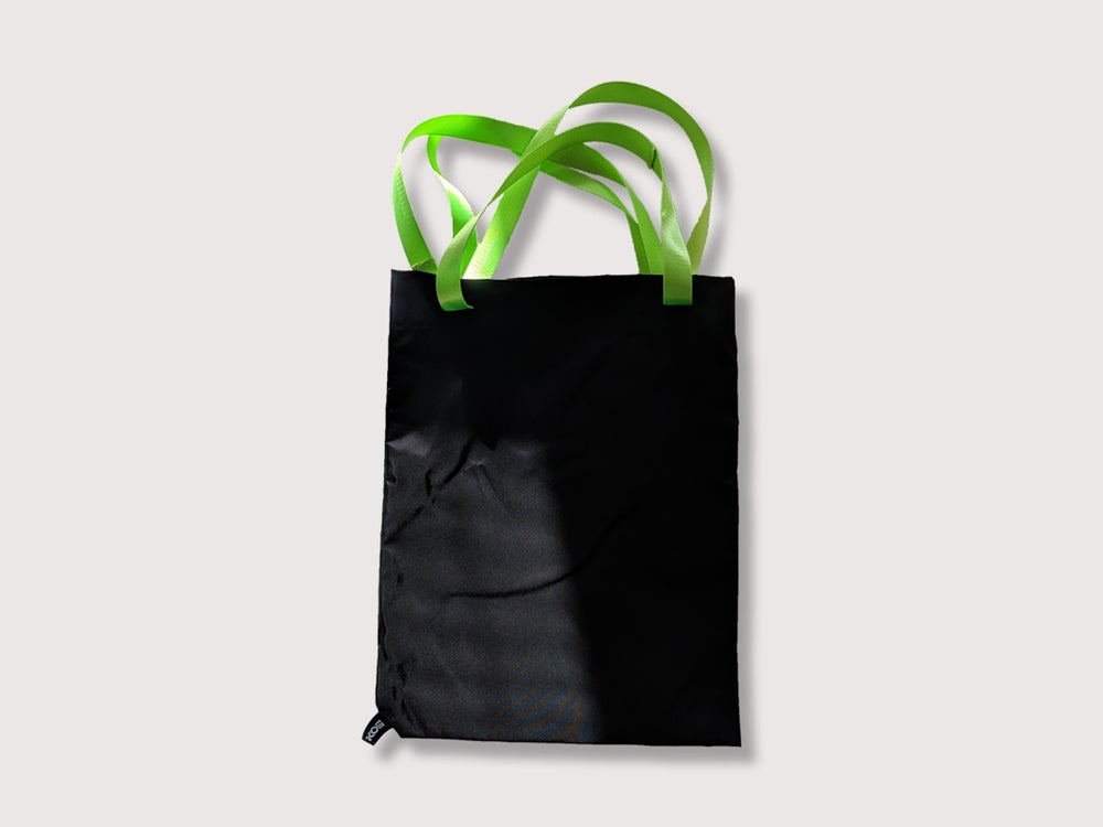 Image of Vova Tote Bag Neon Green