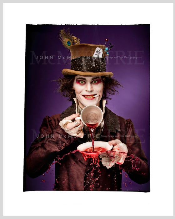 Image of VILLE VALO - MAD HATTER (FULL COLOUR)