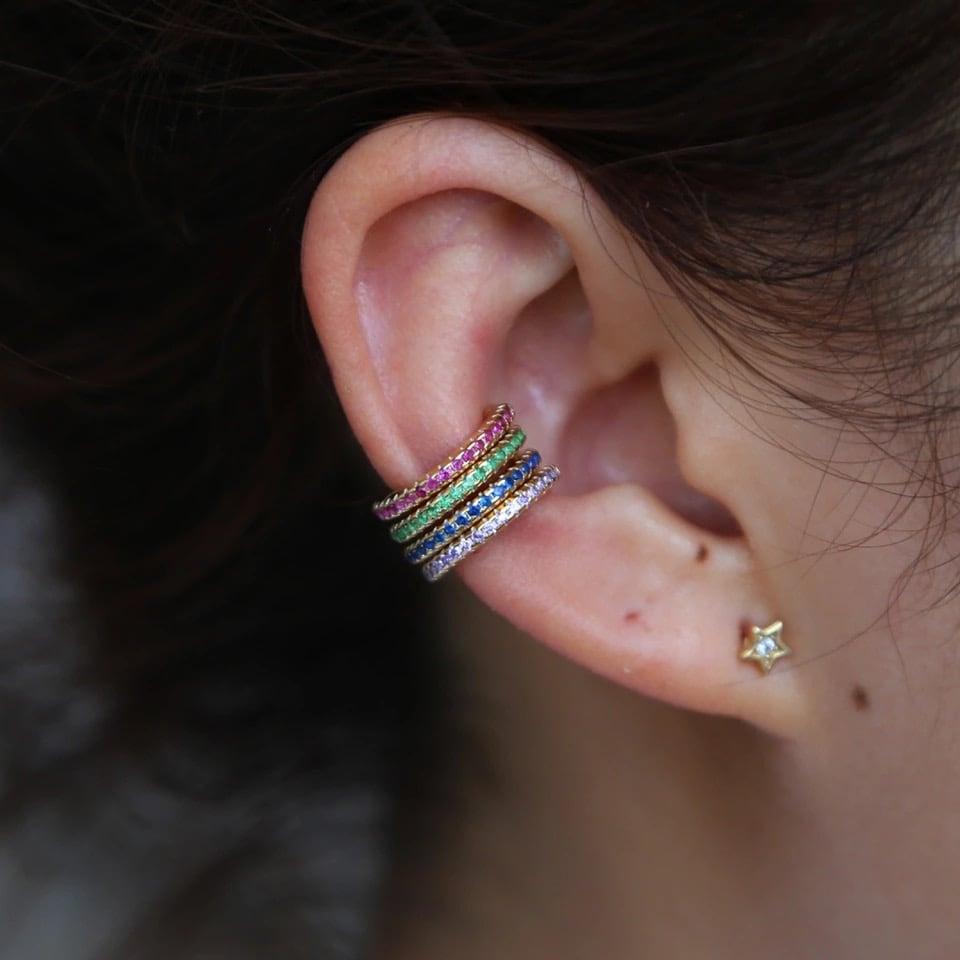 Image of Fake earcuff easy