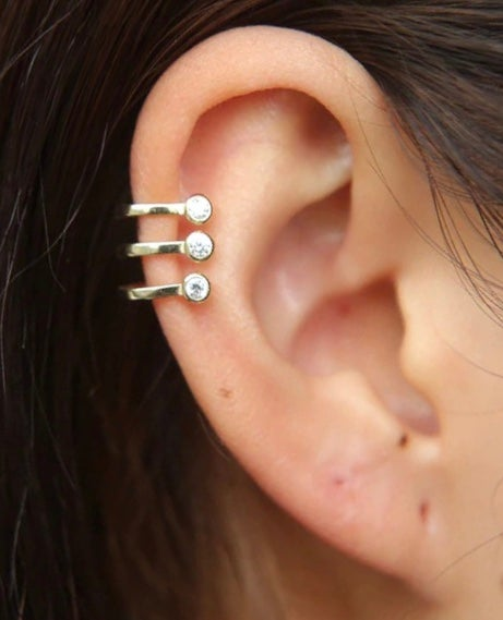 Image of Fake Earcuff trio