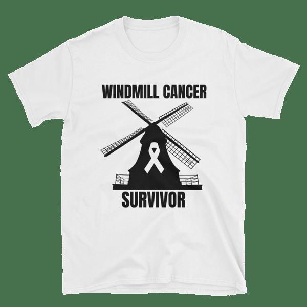 Image of WINDMILL CANCER SURVIVOR T-SHIRT