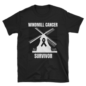 Image of WINDMILL CANCER SURVIVOR T-SHIRT