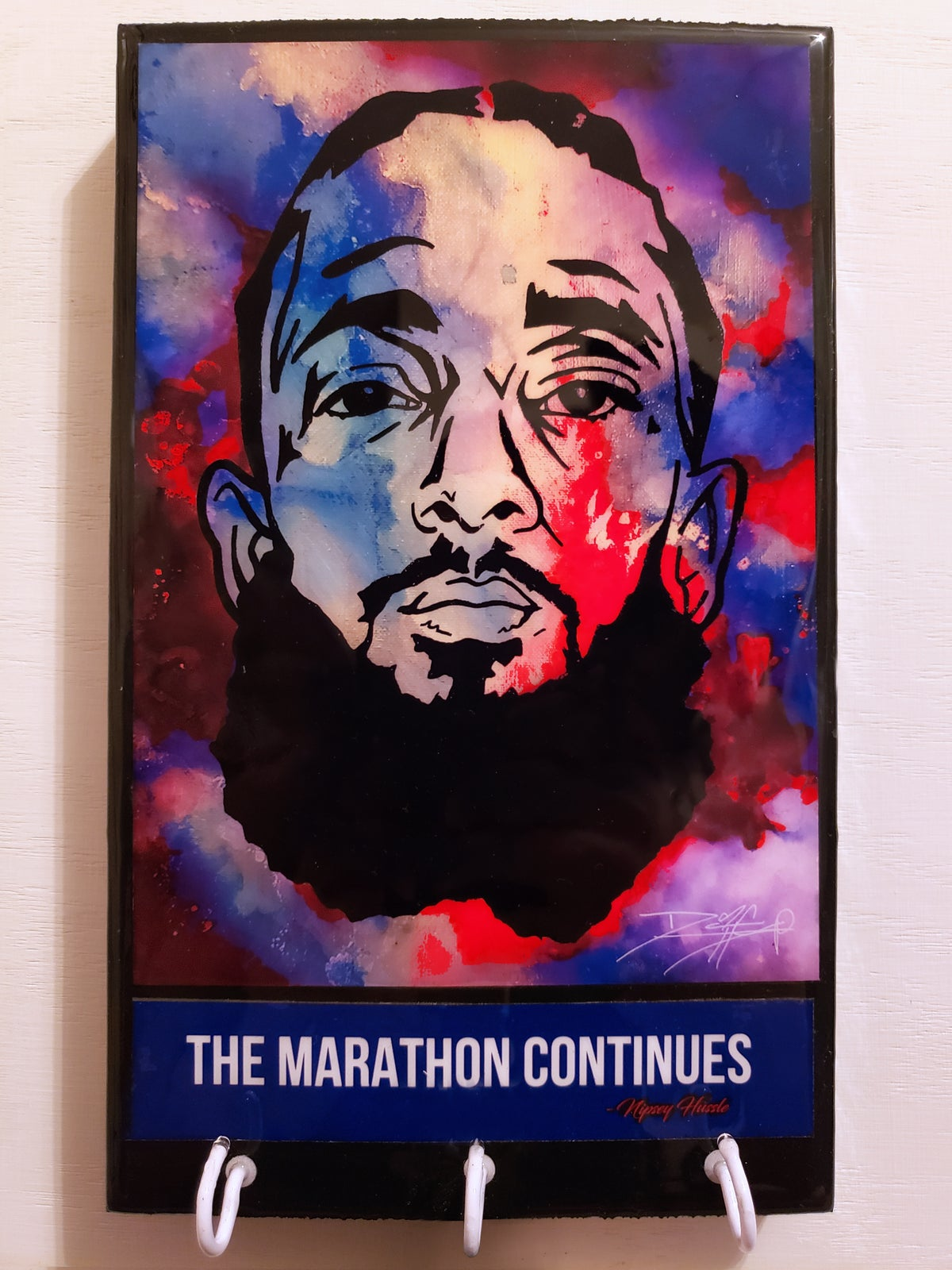 Image of Nipsey Hustle Key Rack