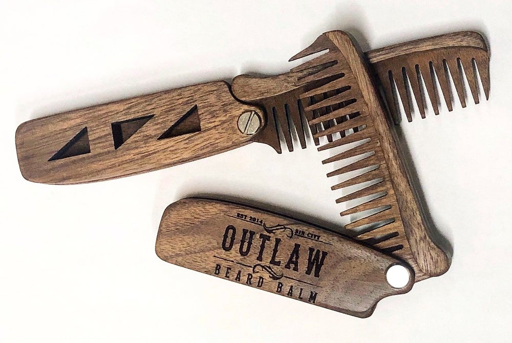 "Image of FOLDING ""SWITCH BLADE"" COMB"