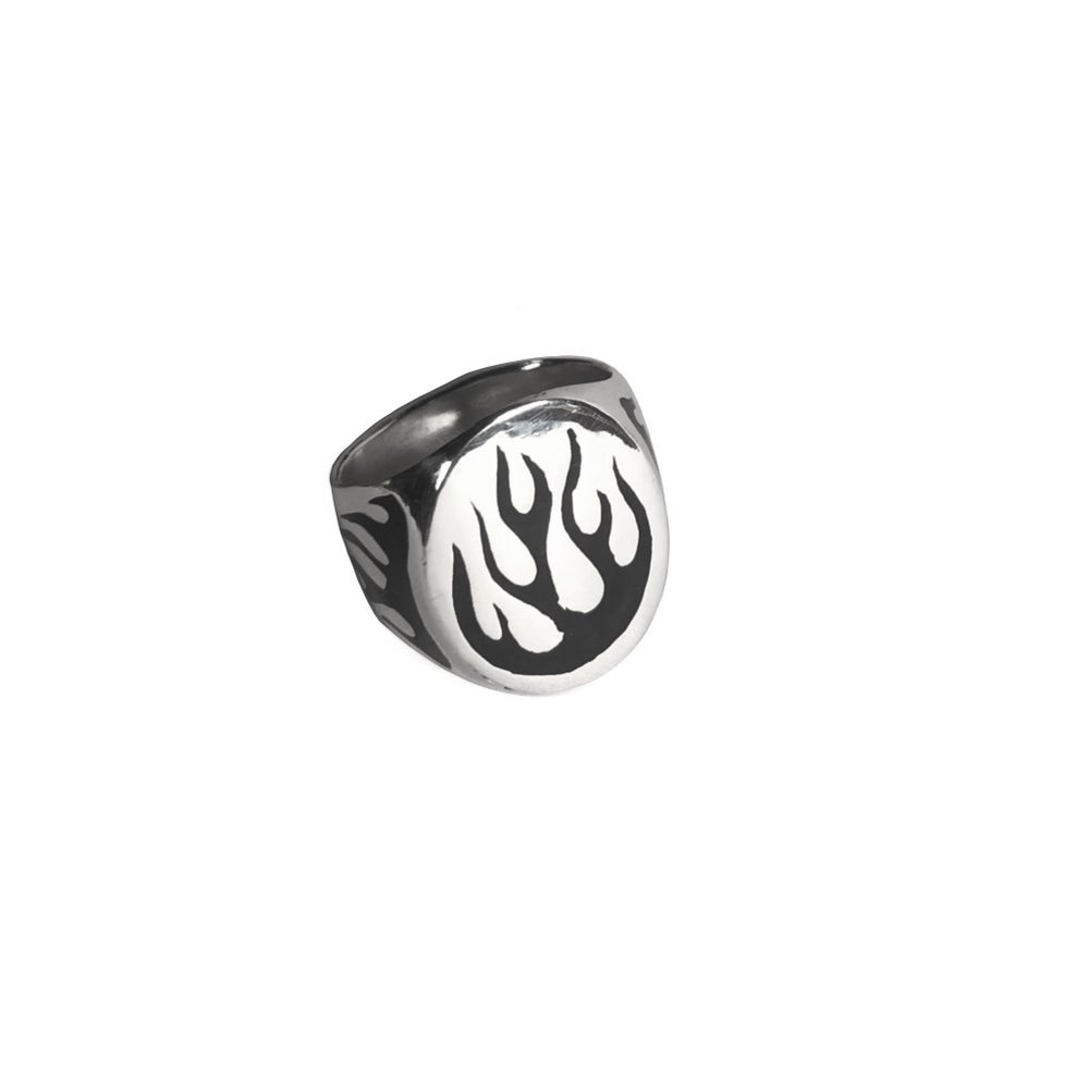 Image of Black Flame Ring
