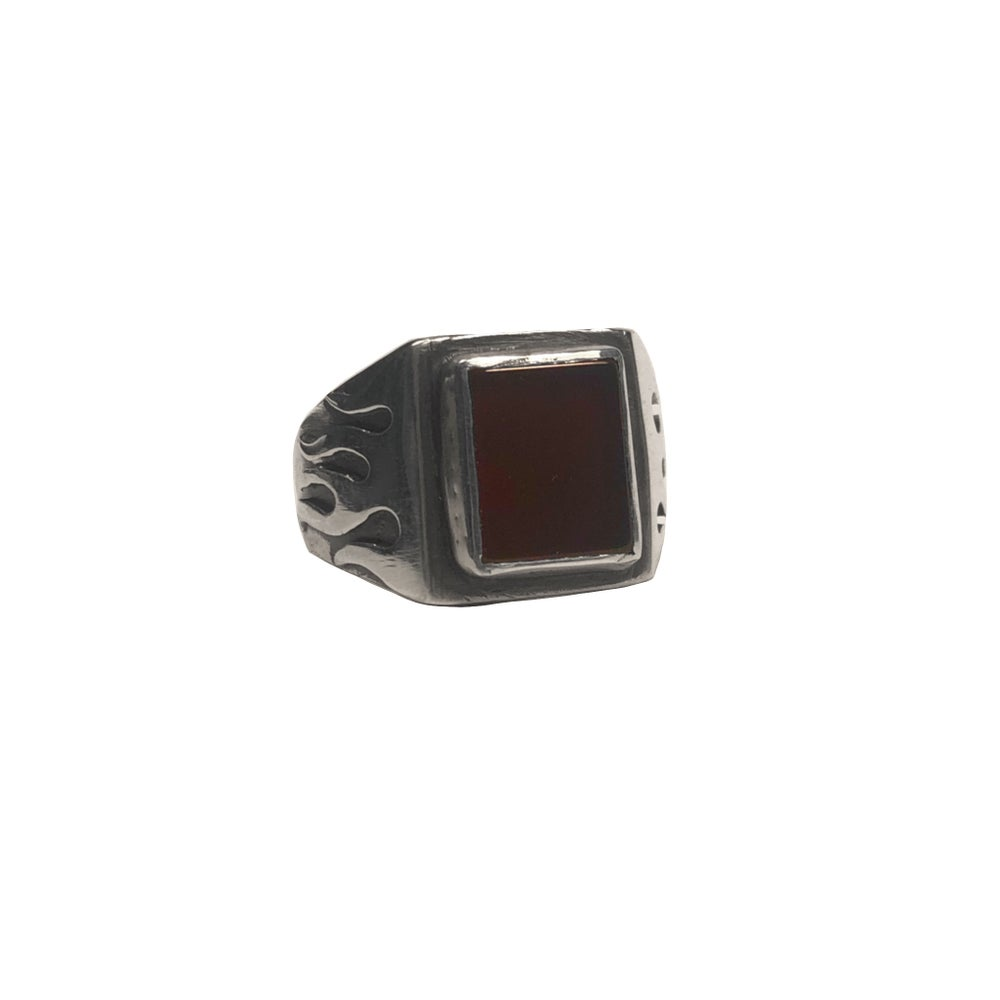 Image of Onyx Flame Ring