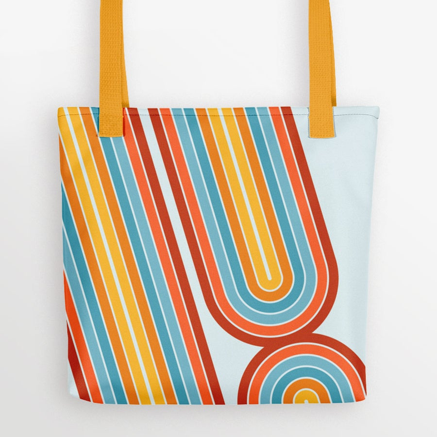 Image of Retro Motion Tote Bag