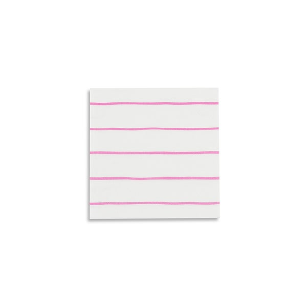 Image of Frenchie Striped Petite Napkins