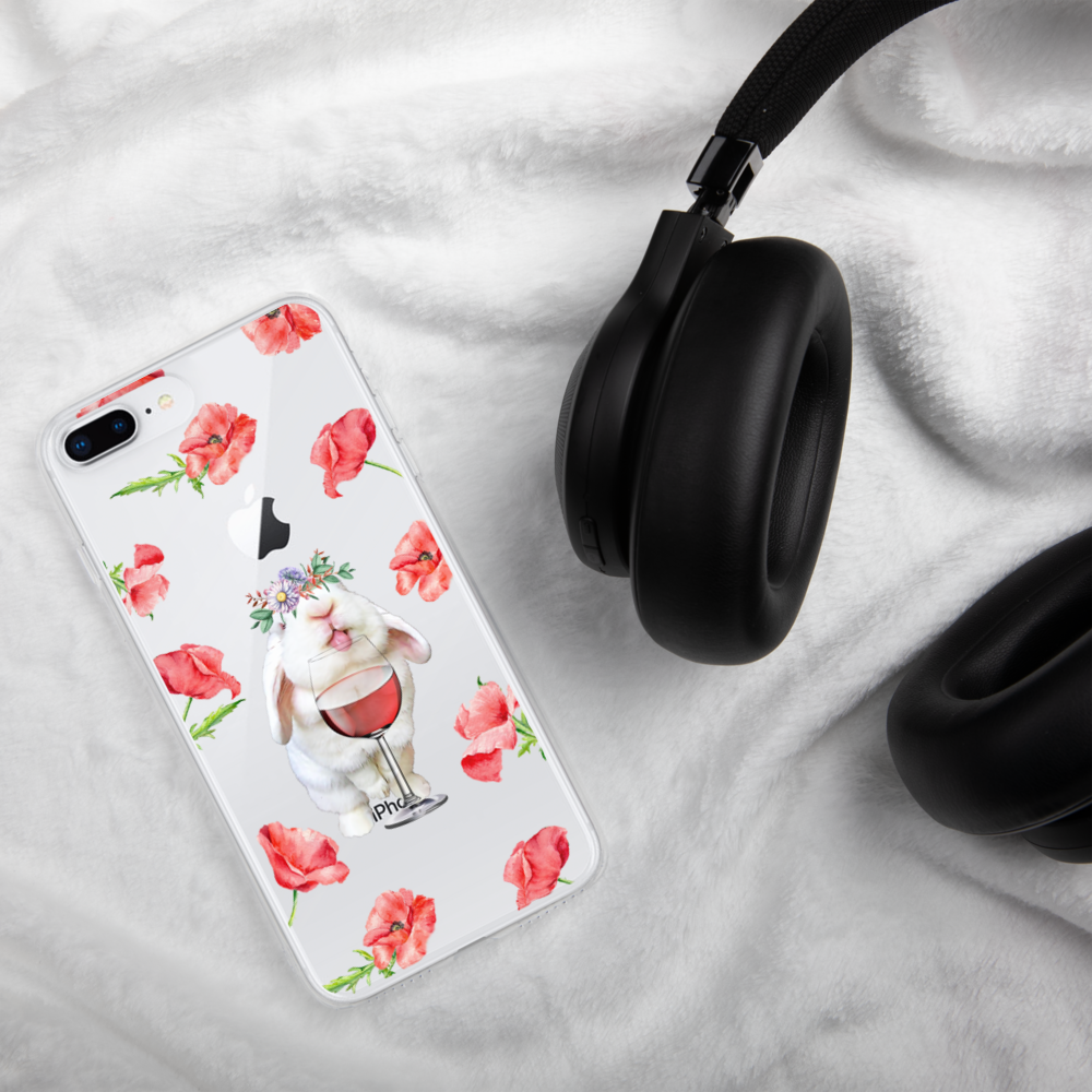 Image of Blanco 'Wine & Flowers' iPhone Case