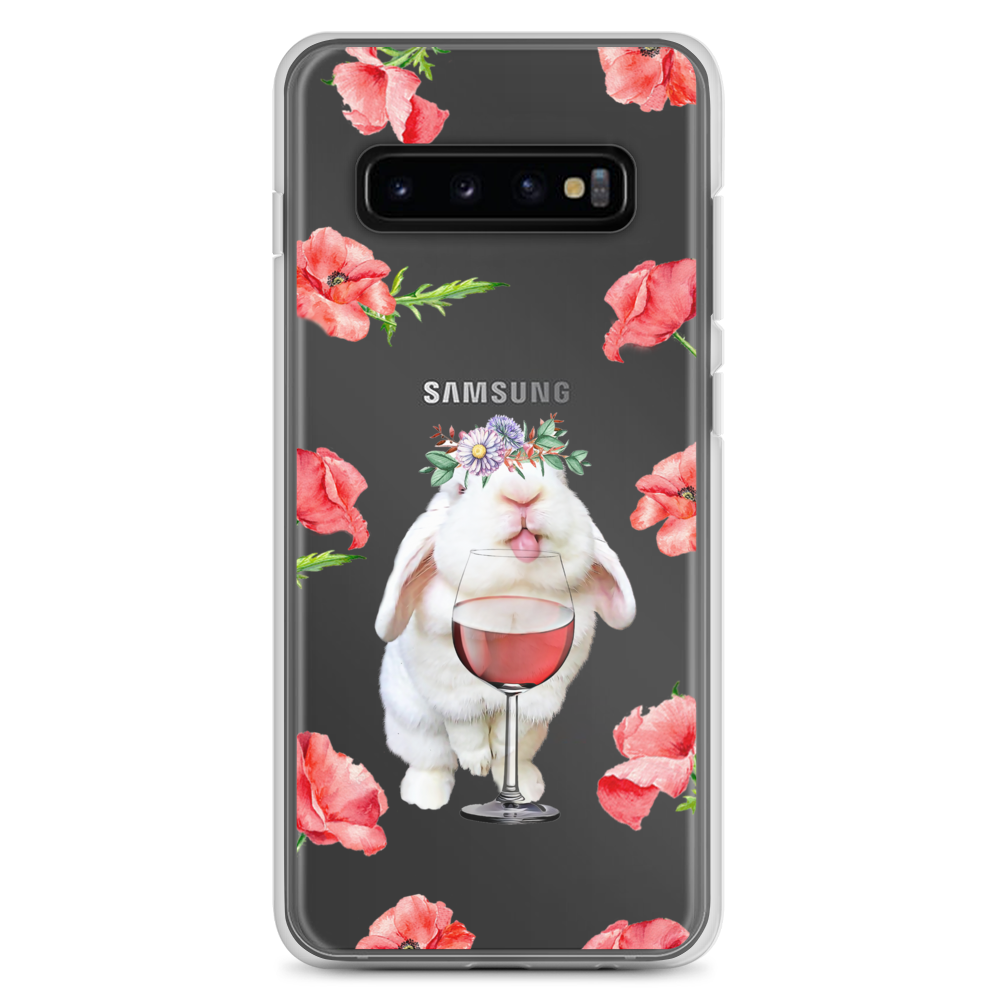 Image of Blanco 'Wine & Flowers' Samsung Case