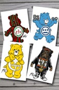 Image of Hip-Hop Cuddlies 5x7 4-pack