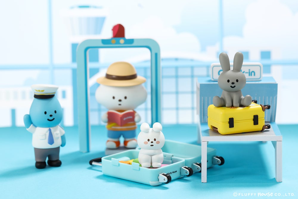 Image of Mr. White Cloud Mini Series 5 - FLUFFY AIRLINES (Random)