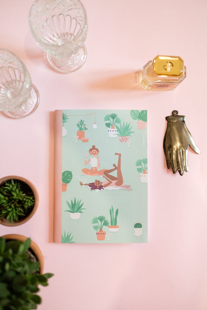 "Image of ""Rosè season"" notebook"