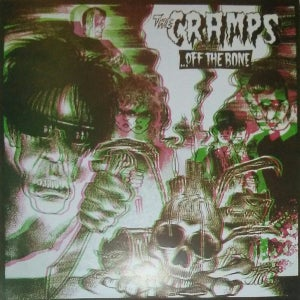 Image of LP. The Cramps : Off The Bone.