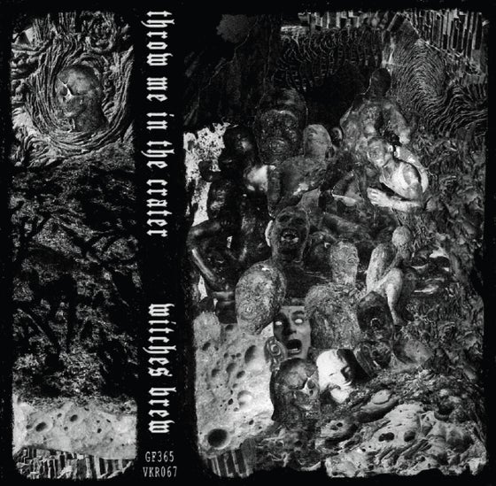 Image of Throw Me In The Crater / Witches Brew - Split CS