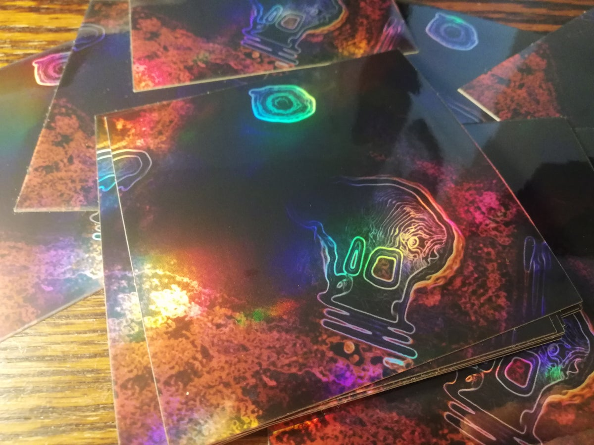 Image of Parallel Universe Reality (PUR) ⚜️ Premium Holographic Stickers
