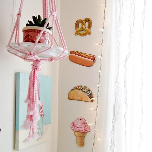 Image of Strawberry Ice Cream Cone everyday ornament